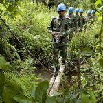 UNMIL-Soldaten aus Bangladesh auf Patrouille (Bild: UN Photo/Christopher Herwig, CC BY-NC-ND 2.0)