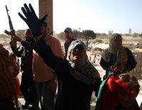 Tripoli residents celebrate Eid, and political victory. Credit: Karlos Zurutuza/IPS.