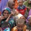 New arrivals at Dadaab wait for a medical check up. Credit: Isaiah Esipisu/IPS