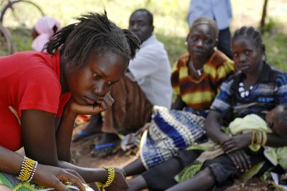 Southern Sudanese civilians displaced by LRA Attacks in Yambio, Sudan. Credit:  UN Photo/Tim McKulka