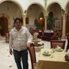 Receptionist Habib Dwek at his hotel.  Credit:  Karlos Zurutuza/IPS