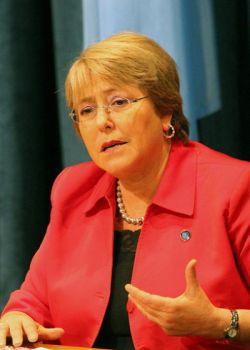Michelle Bachelet.  Credit: Sriyantha Walpola/IPS