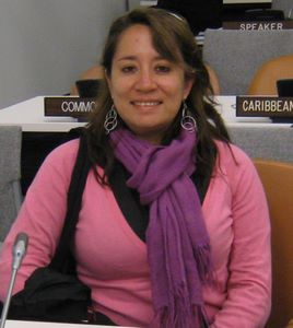 Lorena Barba, specialist in gender-responsive budgeting. Credit: Courtesy of the interviewee