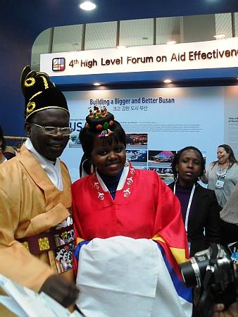 Delegates from Africa at Busan  Credit: Miriam Gathigah/IPS