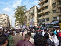 Recent protests at Tahrir have seen a dwindling turnout. Credit: Khaled Moussa al-Omrani/IPS.