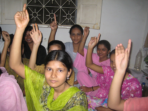Women in Muslim-dominated Metiabruz district in eastern India look forward to better opportunities after their IT education. Credit: Ranjita Biswas/IPS