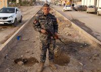 A Sahwa militiaman in Samarra. Credit: Karlos Zurutuza/IPS.