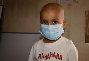 One among an unusually high number of children in Basra fighting leukaemia. Credit: Karlos Zurutuza/IPS.