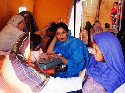 Women in Pakistan's tribal areas show signs of mental stress. Credit: Ashfaq Yusufzai/IPS