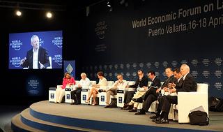 B20 press conference in Puerto Vallarta. Credit: World Economic Forum