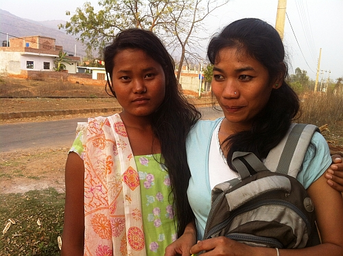These former slave girls face extreme poverty. Credit: Naresh Newar/IPS