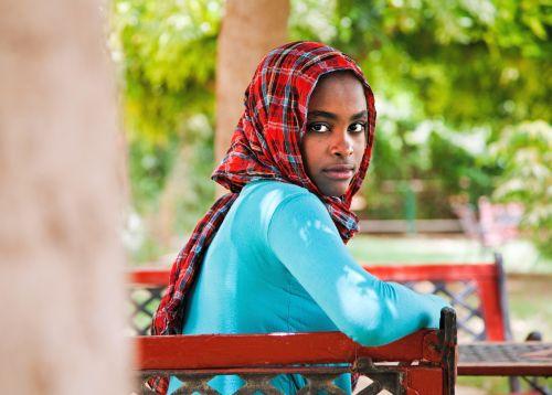Yusra Suleiman al Toum Ahmed, 16, of Sudan is an aspiring journalist and member of her country's Parliament of Students. Credit: UN Photo/Albert Gonzalez Farran