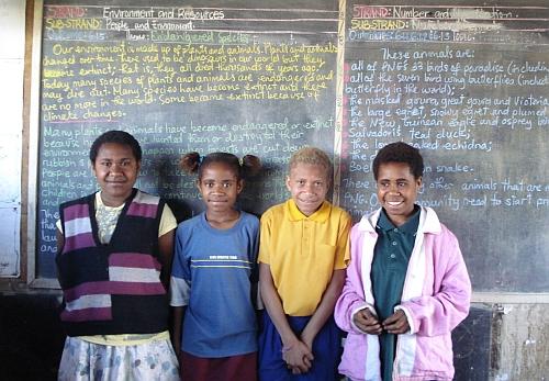 Primary school in Goroka Credit: Catherine Wilson/IPS