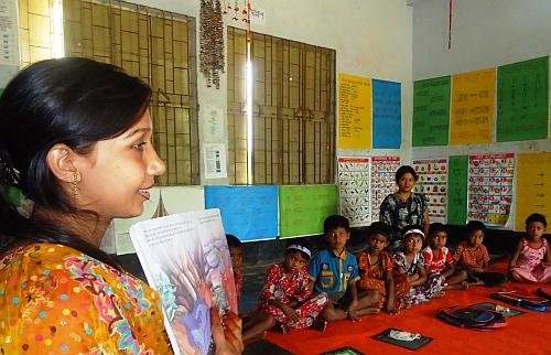 Female teachers have transformed primary education in rural  Bangladesh. Credit: Naimul Haq/IPS