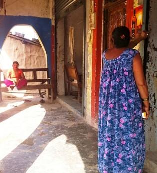Badi sex workers await rehabilitation. Credit: Naresh Newar/IPS