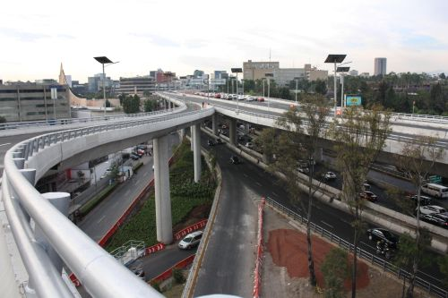 Mexico city freeways.  Credit: Government of Mexico City's Federal District