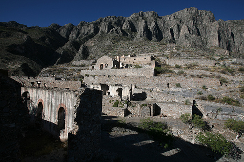 Ghost mining town in Coahuila, Mexico.  Credit: Mauricio Ramos/IPS