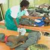Authorities have set up tents to treat cholera victims in Lilongwe Credit:  Pilirani Semu-Banda