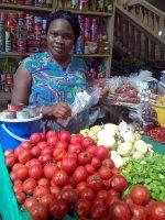 Market queens control the market for fresh vegetables in Ghana. Credit:  Evans Mensah/IRIN