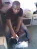 Phumlani Silwana: 'I save most of my salary so that I can study computer technology.' Credit:  JustPCs