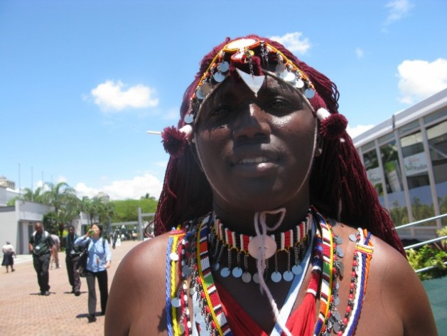 Olonana Ole Pulei's community is a sub-tribe of Kenya's Maasai ethnic group. Credit: Isaiah Esipisu/IPS