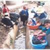 Women washing clothes in a village in northern Peru. Credit: Elena Villanueva /IPS