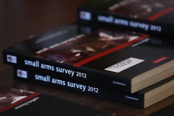 According to the 2012 Small Arms Survey, as much as 8.5 billion dollars is spent every year on the legal trade of small arms and light weapons. Credit: UN Photo/JC McIlwaine