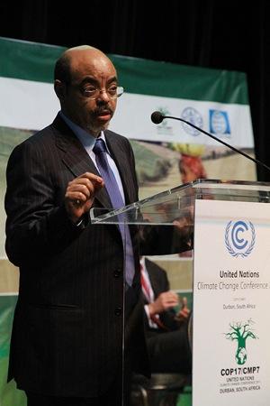 The late Ethiopian leader Meles Zenawi. Credit: Ragnhild H. Simenstad, Utenriksdepartementet/ CC by 2.0