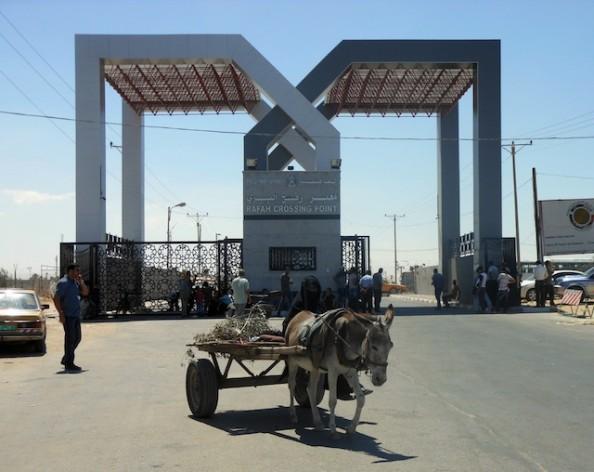 The Rafah crossing. Credit: Eva Bartlett/IPS.