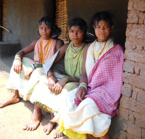 Dongria Kondh tribal girls. Credit: Manipadma Jena/IPS