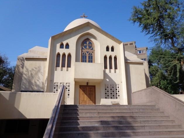 St. Mark's church in Maadi area of Cairo. Credit: Mel Frykberg/IPS.