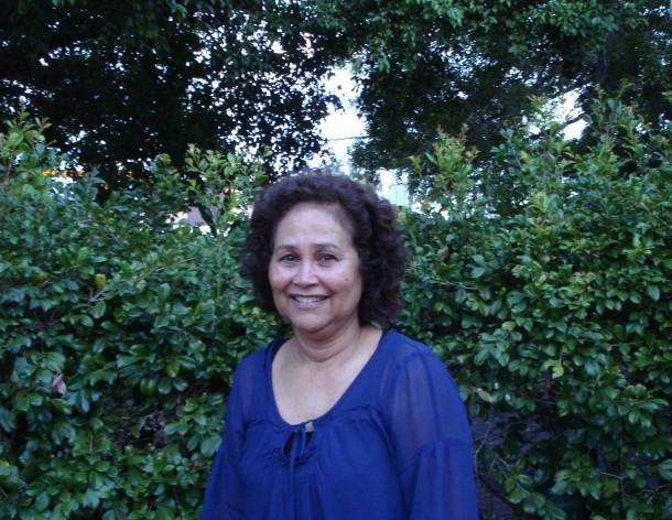 Kiribati climate activist Wanita Limpus in Brisbane. Credit: Catherine Wilson/IPS