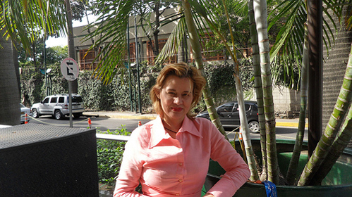 Luz Maldonado contracted Chagas disease from contaminated fruit juice in her urban upper-middle class Caracas neighbourhood. Credit: Estrella Gutiérrez/IPS