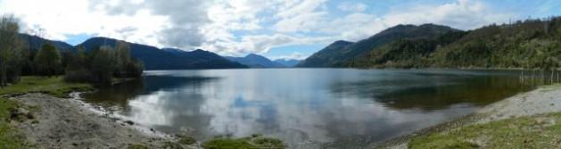 Panoramic view of Lake Neltume. Credit: Marianela Jarroud/IPS