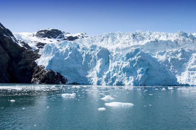 Hubbard glacier in Seward, Alaska. Credit: Bigstock