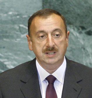 President Ilham Aliyev. UN Photo/Rick Bajornas