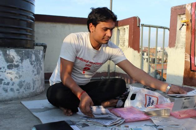 Arjun Kumar Sah is engaged in a long struggle for citizenship. Credit: Mallika Aryal/IPS.
