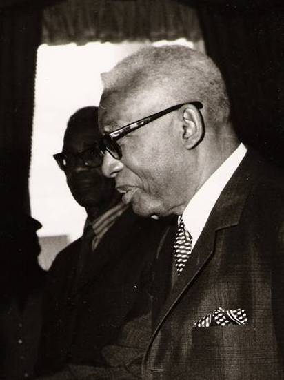 Haitian President François Duvalier in 1968. Credit: Public domain