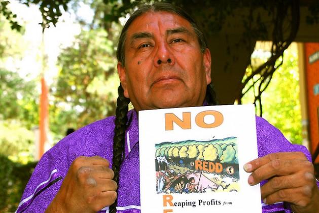 U.S. Native American leader Tom Goldtooth. Credit: Franz Chávez/IPS