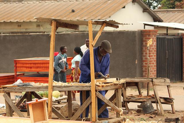 Informal Carpentry Hammers Away Zimbabwe S State Revenue