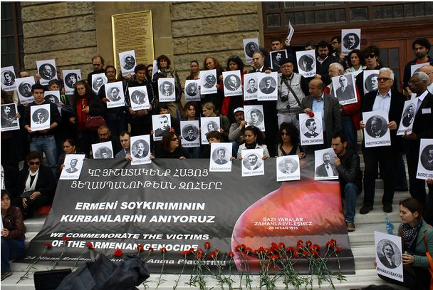 """""""Turkish society is changing. They are putting pressure on the government about the Armenian genocide."""""""