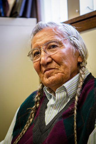 Russell Jim, Yakama Elder and Director of Environmental Restoration & Waste Management Program (ERWM) for the Yakama Nation. Credit: Jason E. Kaplan/IPS
