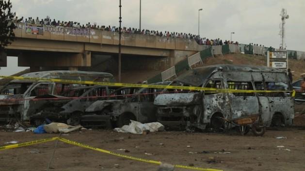Boko Haram's latest bomb attack in Nigeria's capital, Abuja, on Apr. 14, 2014, claimed 75 lives. Courtesy: Ayo Bello