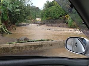 St. Vincent has been strengthening river defences and coastal defences following deadly floods in December 2013. Credit: Desmond Brown/IPS