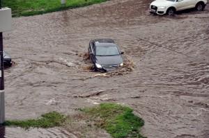 ar swept away in July 2014 floods in Russia. Credit: takeme.ru