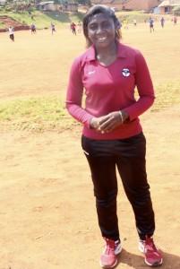 Majidah Nantanda is Uganda's first female national coach for the country's  [...] <a class=