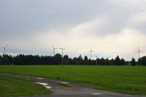 Wind farm in Proschim, Lusatia, Germany. Credit: Silvia Giannelli/IPS
