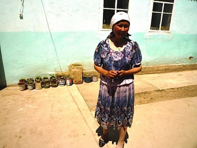 Chairwoman of the local community fund, Mairam Dukenbaeva, in IssykKul, Kyrgyzstan. Photo: UN Women/MalgorzataWoch