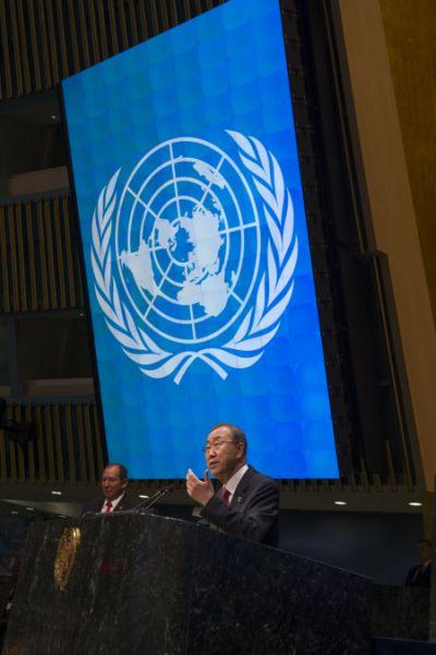 U.N. Secretary-General Ban Ki-moon. Credit: UN Photo/Eskinder Debebe