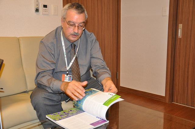 Executive Director of the United Nations Convention on Biological Diversity (CBD) Braulio Ferreira de Souza Dias. Credit: Desmond Brown/IPS